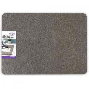 The Gypsy Quilter  Wool Pressing Mat 14-1/3in Wide x 18-7/8in Long x 1/2in Thick
