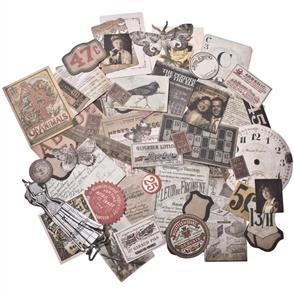 Idea-Ology  Ephemera Pack 54/Pkg - Thrift Shop