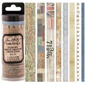 Idea-Ology  Tim Holtz Idea-0logy Design Tape 8/Pkg - Journey