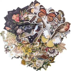 Idea-Ology Layers Die-Cuts 83/Pkg - Botanical