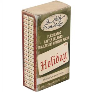 Idea-Ology  Double-Sided Flashcards 72/Pkg - Holiday