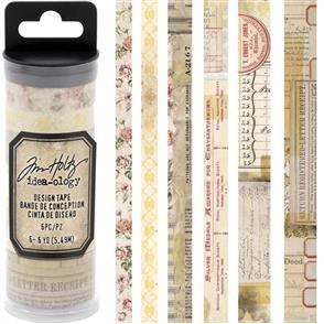 Idea-Ology  Design Tape - Remnants - 6/Pkg
