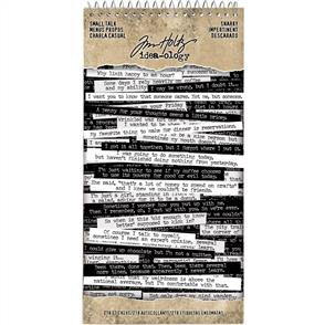 Idea-Ology Tim Holtz - Word Stickers - Small Talk - Snarky