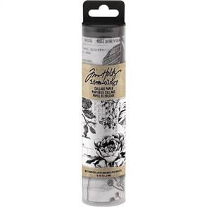 Idea-Ology Tim Holtz Collage Paper 6yds - Botanical