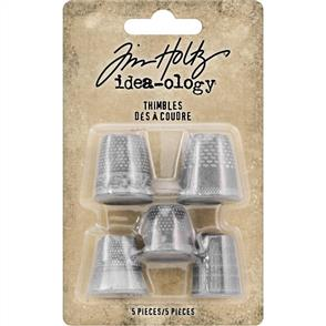 Idea-Ology Metal Thimbles 5/Pkg