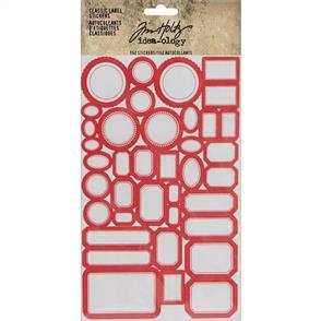 Idea-Ology Tim Holtz Idea-ology Stickers - Classic Labels