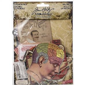 Idea-Ology  Tim Holtz  Ephemera Pack 82/Pkg