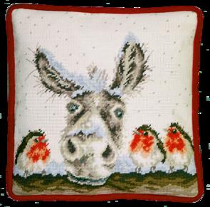 Bothy Threads  Cross Stitch Kit - Christmas Donkey Tapestry