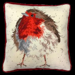 Bothy Threads Tapestry Kit - Jolly Robin