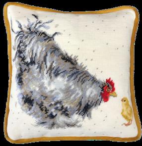 Bothy Threads Tapestry Kit - Mother Hen