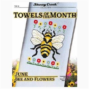 MISC Towels of the Month Cross Stitch Chart - June