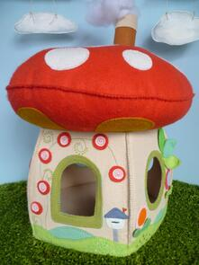 Frazzy Dazzles On Toadstool Lane Toadstool House