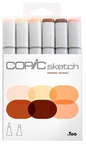 Copic  Sketch Markers Set - Portrait