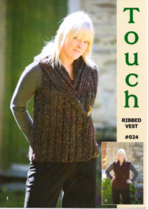 Touch Pattern 024 Ribbed Vest
