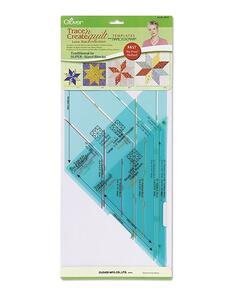 Clover  Trace 'N Create Quilt Templates (Lone Star Collection)