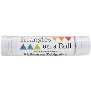 MISC Triangles On A Roll Sew & Fold 50' - 60 Degree Tri-Angles