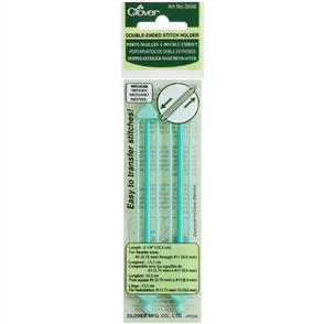 "Clover  Double-Ended Stitch Holders 5.25"" (Medium)"