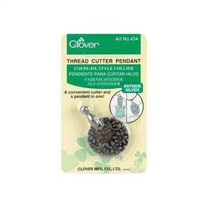 Clover Thread Cutter Pendant (Silver)