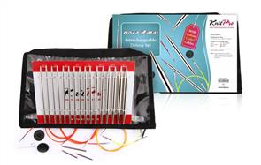 Knitpro : Nova Metal, Interchangeable Circular Needle Set - Deluxe Set