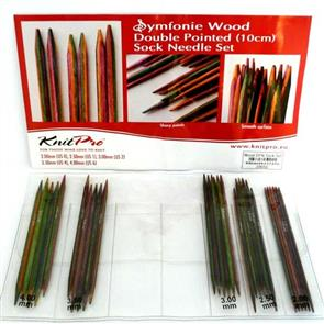Knitpro : Symfonie, Double Point Needle Sets - 10cm