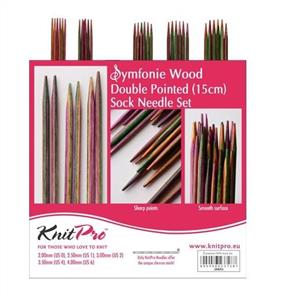 Knitpro : Symfonie, Double Point Needle Sets - 15cm