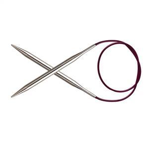 Knitpro Nova Metal, Fixed Circular Knitting Needles - 40cm