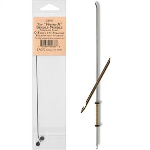 Lacis  Verna Beadle Needle - Straight 7.5""