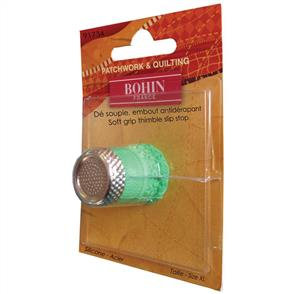 Bohin Silicone Thimble With Steel Top - XL