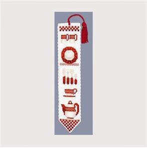 Le Bonheur Des Dames  Vaisselle Rouge - Bookmark Kit