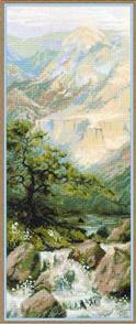 Riolis  Mountain River 2 - Cross Stitch Kit