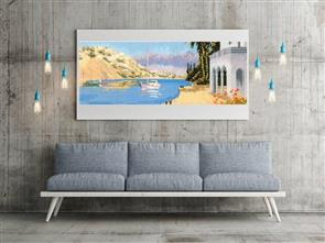 MISC  Mediterranean Harbour - Cross Stitch Chart
