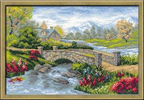 Riolis  Summer View - Cross Stitch Kit