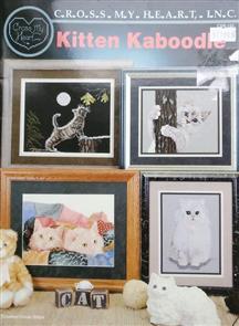 Cross My Heart Cross Stitch Chart - Kitten Kaboodle