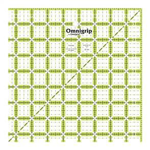 "Omnigrid Omnigrip By Non-Slip Quilter's Ruler 8.5""X8.5"""