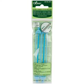 "Clover  Double-Ended Stitch Holders 5.25"" (Sizes 2 To 7) 2/Pkg"