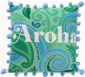 The Stitchsmith  Needlepoint Kit: Aroha (love)