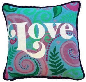 The Stitchsmith  Needlepoint Kit: Love