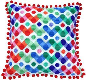 The Stitchsmith Needlepoint Kit: Rainbow