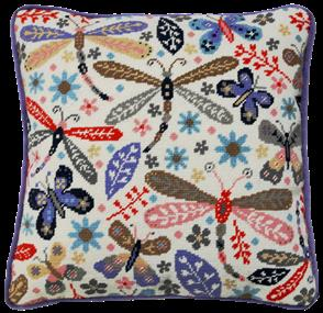 Bothy Threads Dragonflies Tapestry Kit