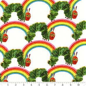 Andover Fabric  The Very Hungry Caterpillar - Rainbow
