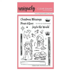 Uniquely Creative - Clear Stamps: First Christmas