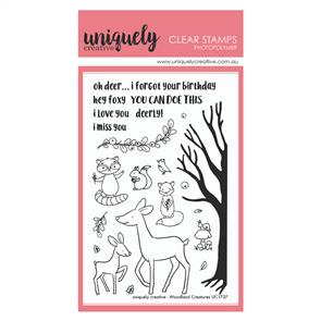 Uniquely Creative - Clear Stamps: Woodland Creatures