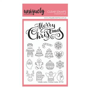 Uniquely Creative  - Christmas Cookies Stamps