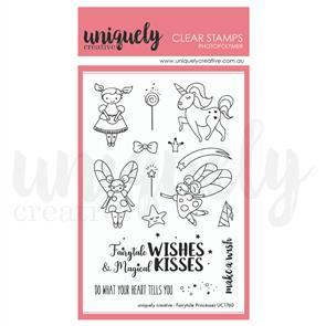 Uniquely Creative - Clear Stamps: Fairytale Princess
