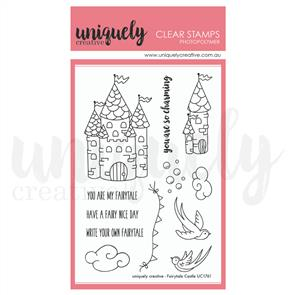 Uniquely Creative - Clear Stamps: Fairytale Castle Stamp