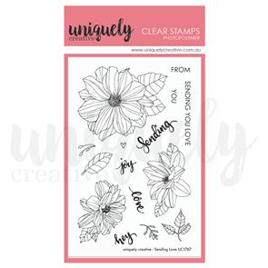 Uniquely Creative - Clear Stamps: Sending Love