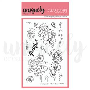 Uniquely Creative  - Clear Stamps: Cherry Blossom