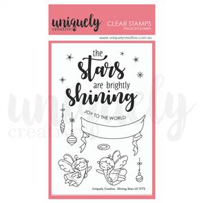 Uniquely Creative  - Clear Stamps: Shining Stars