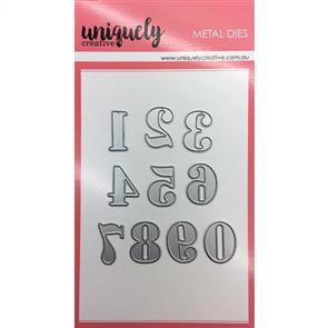 Uniquely Creative  - Numbers Die Set