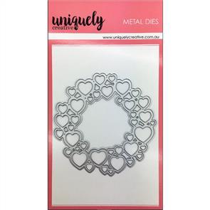 Uniquely Creative  - Heart Wreath